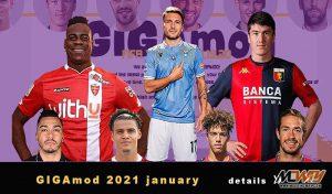 فیس پک GIGAmod 2021 january 1.0 برای FIFA 14
