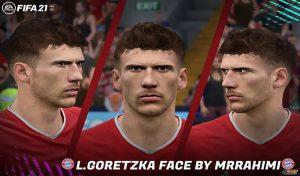 فیس L. Goretzka برای FIFA 21 توسط MRRAHIMI