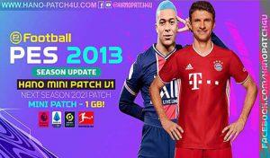 پچ HANO Mini Patch v1 برای PES 2013 فصل 2021