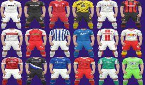 کیت پک Bundesliga 2020-21 برای PES 2017