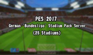 استادیوم سرور Bundesliga برای PES 2017 توسط Ethan