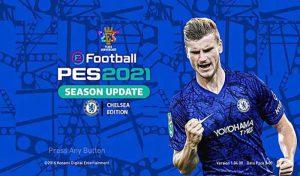 منو گرافیکی Chelsea FC برای PES 2017 توسط winpes21
