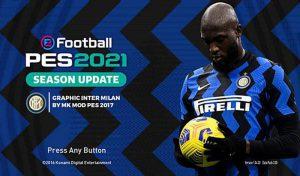 منو گرافیکی Inter Milan برای PES 2017 توسط Mk Mod Pes 2017