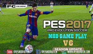 دانلود گیم پلی Style v6برای PES 2017 توسط PES-HD Patch