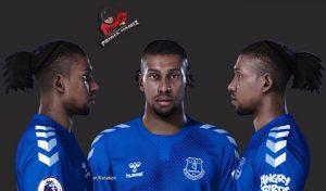 فیس Alex Iwobi برای PES 2021 توسط Prince Hamiz