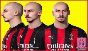 فیس و استایل Zlatan Ibrahimovic برای PES 2021