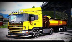 کامیون SCANIA 144L 460 1.39 برای یورو تراک 2
