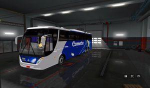 اتوبوس Scania Caio Giro 3600 1.35.x v1.1 1.39 برای یورو تراک 2