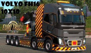 کامیون VOLVO FH16 2012 MEGA MOD برای یورو تراک 2