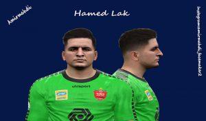 فیس Hamed Lak برای PES 2017 توسط AMIRMAHDI