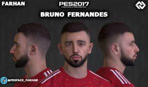 فیس جدید Bruno Fernandes برای PES 2017 توسط FARHAN