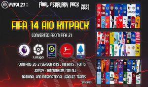 دانلود کیت پک FIFA 21 AIO برای FIFA 14 توسط Chaos