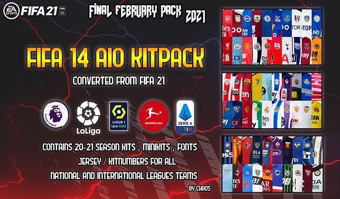 دانلود کیت پک FIFA 21 AIO
