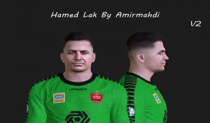 فیس Hamed Lak v2 برای PES 2017 توسط AMIRMAHDI