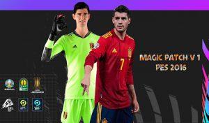 دانلود پچ Magic Patch برای PES 2016
