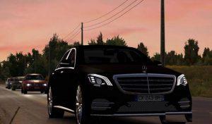 ماشین Mercedes Benz S400d برای یورو تراک 2