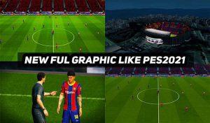 ماد گرافیکی Graphic Mod PES 2021 برای PES 2017