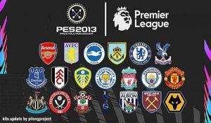 دانلود کیت پک Premier League 2020-2021 برای PES 2013