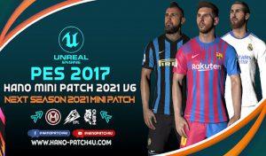 مینی پچ HANO v6 Season 2021 برای PES 2017