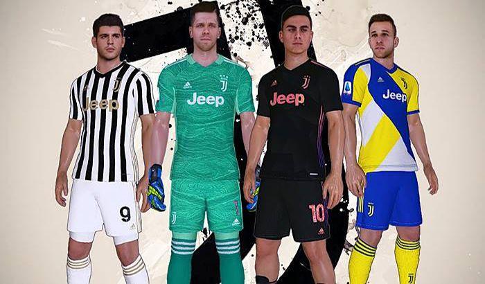 کیت Juventus Leaked