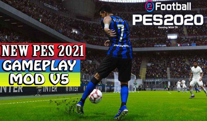 گیم پلی PES 2021 Gameplay V5