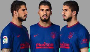 فیس Luis Suarez برای PES 2021 توسط Unknown Facemaker