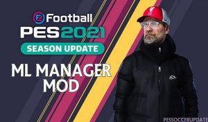 ماد گرافیکی ML Manager Mod 3.0 AIO برای PES 2021 توسط SoulBallZ