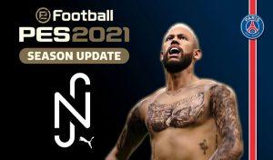 دانلود ماد منو Neymar Jr برای PES 2021 توسط Hawke