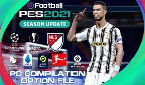 آپشن فایل DLC 5.0 10/04/2021 برای PES 2021