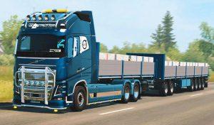 کامیون RPIE VOLVO FH16 2012 V1.40.0.108S 1.2.1 برای یورو تراک 2