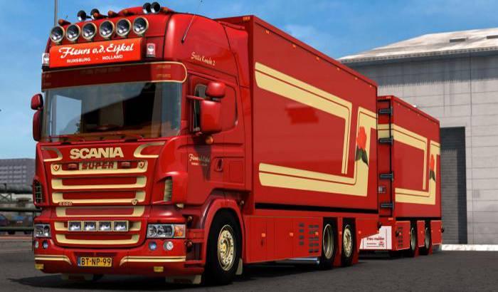 کامیون SCANIA R 620 FLEURS