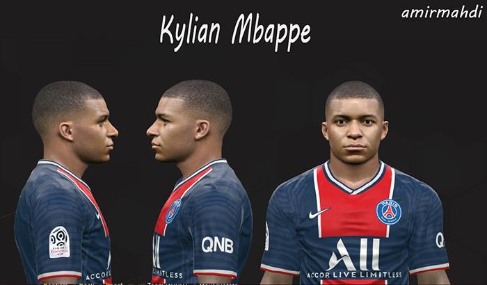فیس Kylian Mbappé