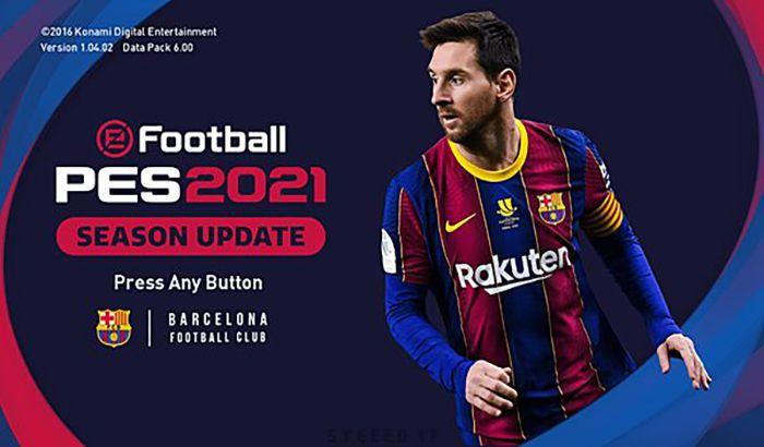 ماد گرافیکی Barcelona PES 2021