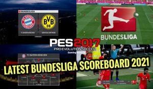 اسکوربرد BUNDESLIGA 2021 برای PES 2017 توسط Akim Kemhil