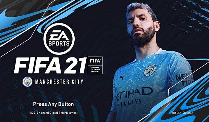 ماد گرافیکی Manchester City V2 FIFA 21 Style