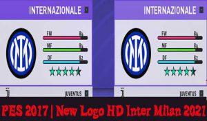 دانلود لوگو تیم Inter Milan 2021 برای PES 2017