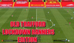 ماد Old Trafford Bannersبرای PES 2017 توسط DC