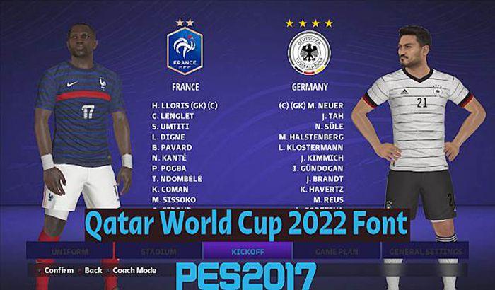 فونت Qatar World Cup 2022