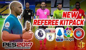 کیت پک Referee 2020/2021 برای PES 2017