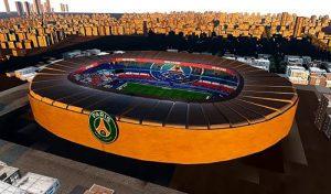 استادیوم the Parc des Princes برای PES 2021 + نمای بیرونی