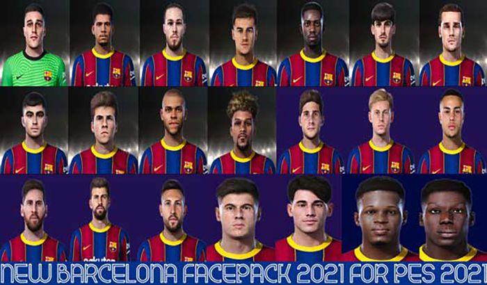 فیس پک Barcelona 2021