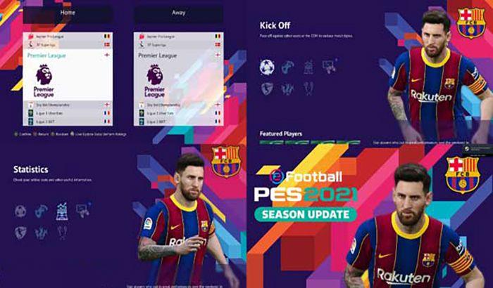 دانلود منو گرافیکی Lionel Messi