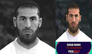 فیس Sergio Ramos 2021 برای PES 2017 توسط Suleyman