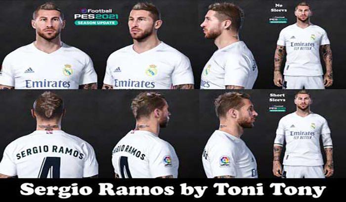 فیس Sergio Ramos