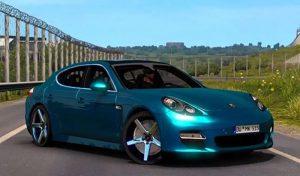 ماشین Porsche Panamera v5.0 1.39 V6.0 1.40 برای آمریکن تراک 2