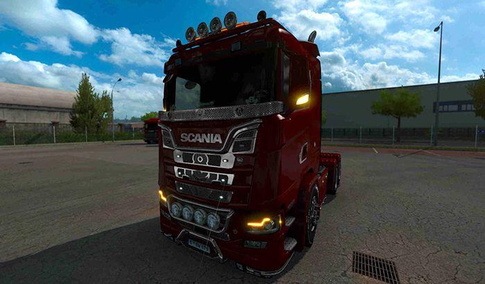 کامیون Scania Illegal S v1.0