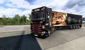 کامیون Combo skin interceptor 1.0 برای یورو تراک 2