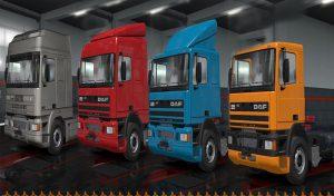 کامیون DAF 95ATi برای یورو تراک 2