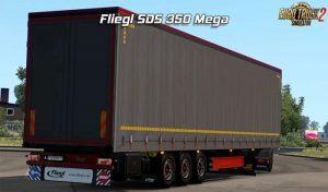کامیون Fliegl SDS350 Mega Rework v 2.14 برای یورو تراک 2