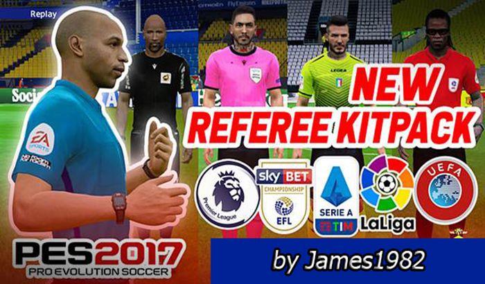 کیت Referee